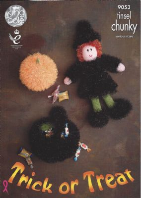 King Cole Tinsel Chunky - 9053 Tinsel Halloween